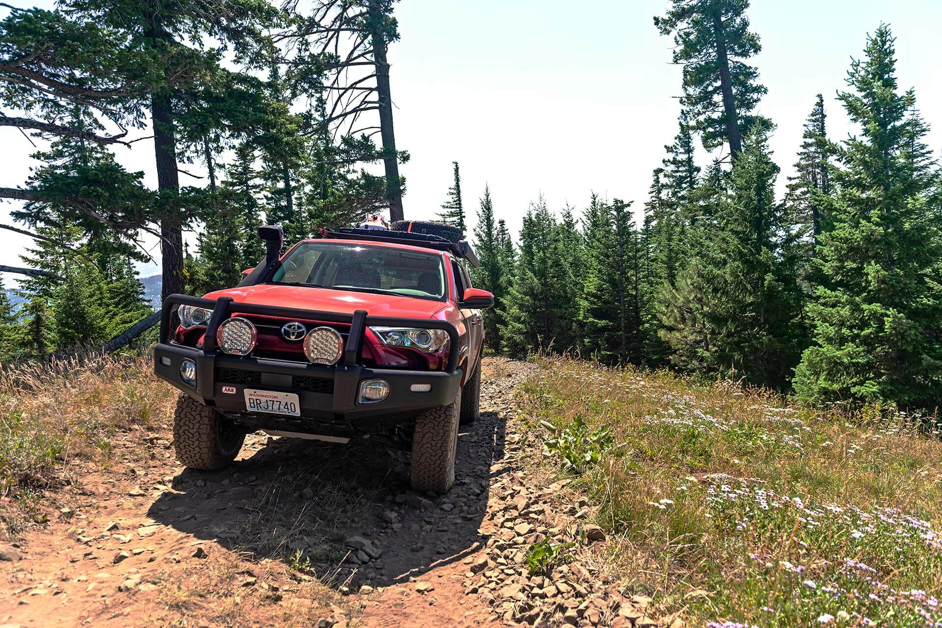 Toyota 4Runner at Red Bald Mountain