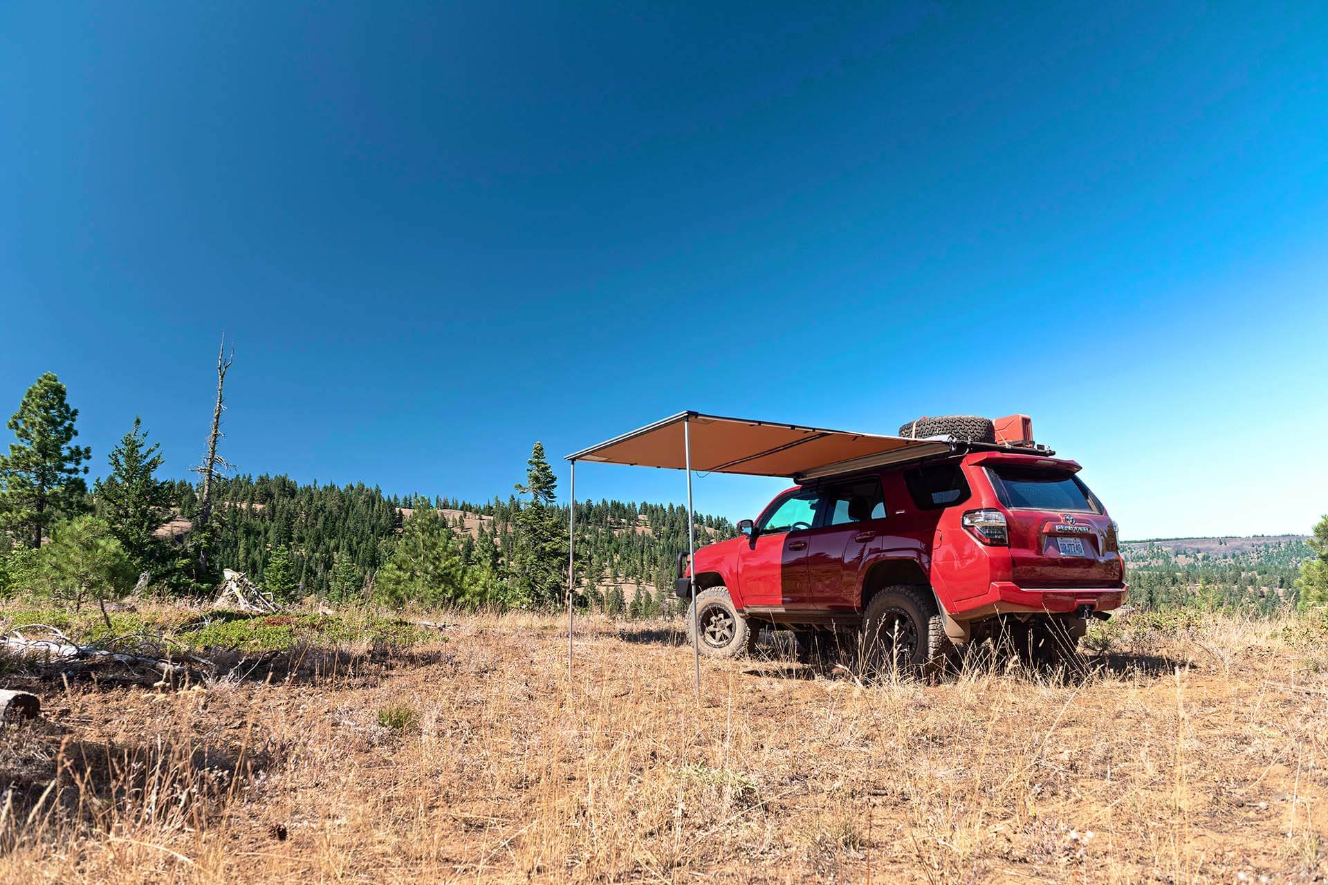 Toyota 4Runner with Awning extended