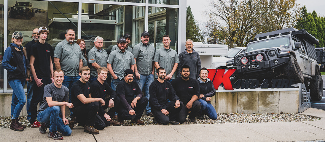 The OK4WD team