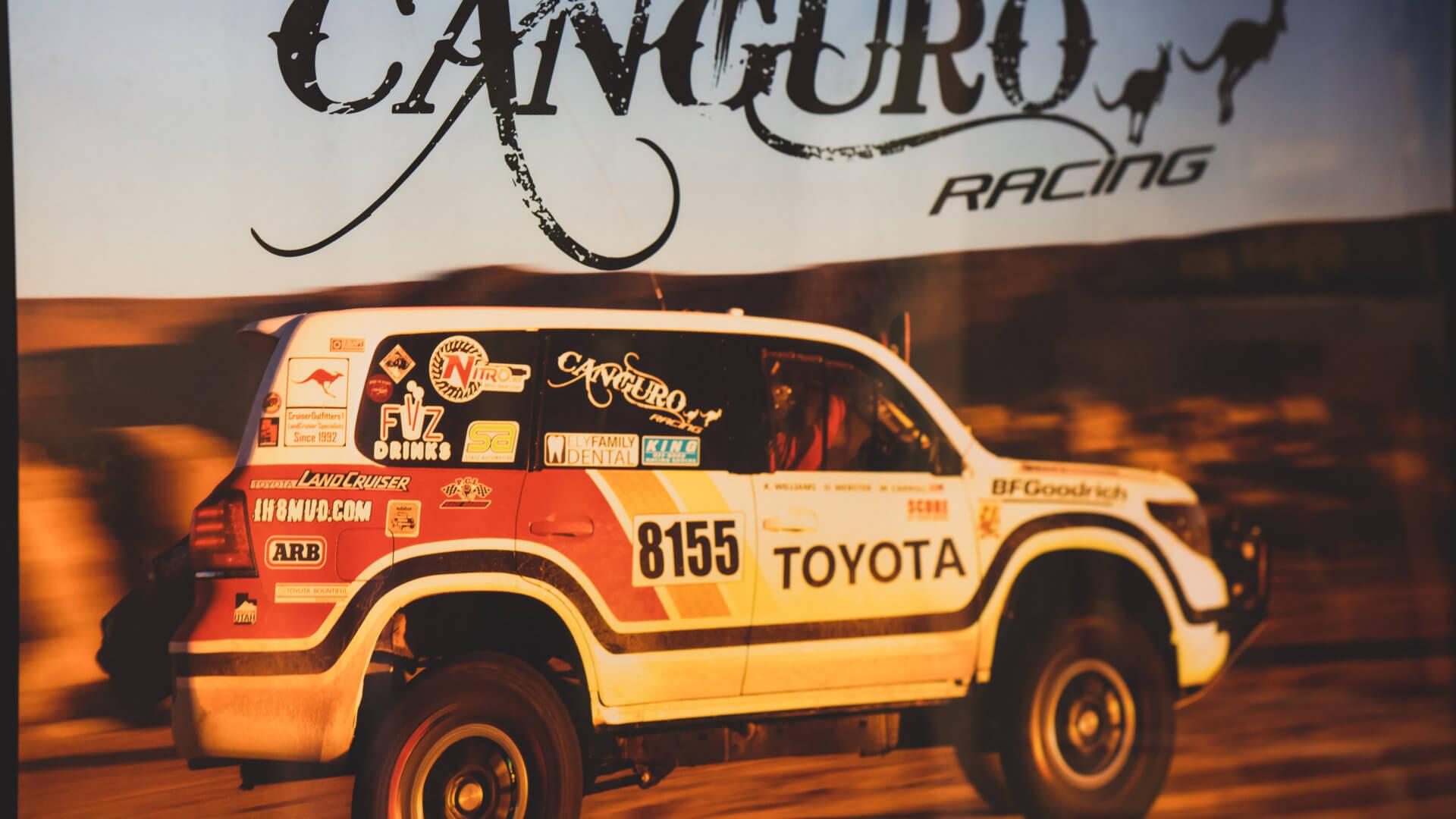 Canguro Racing vehicle