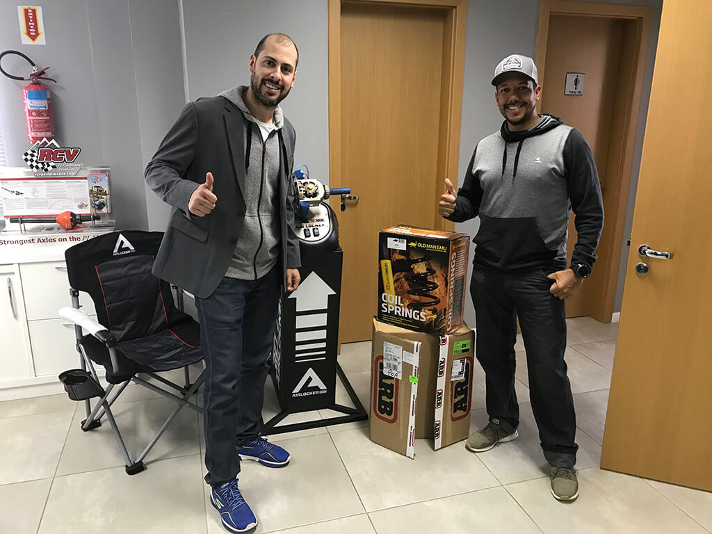 Tecmin Brazil Owner with Ernesto