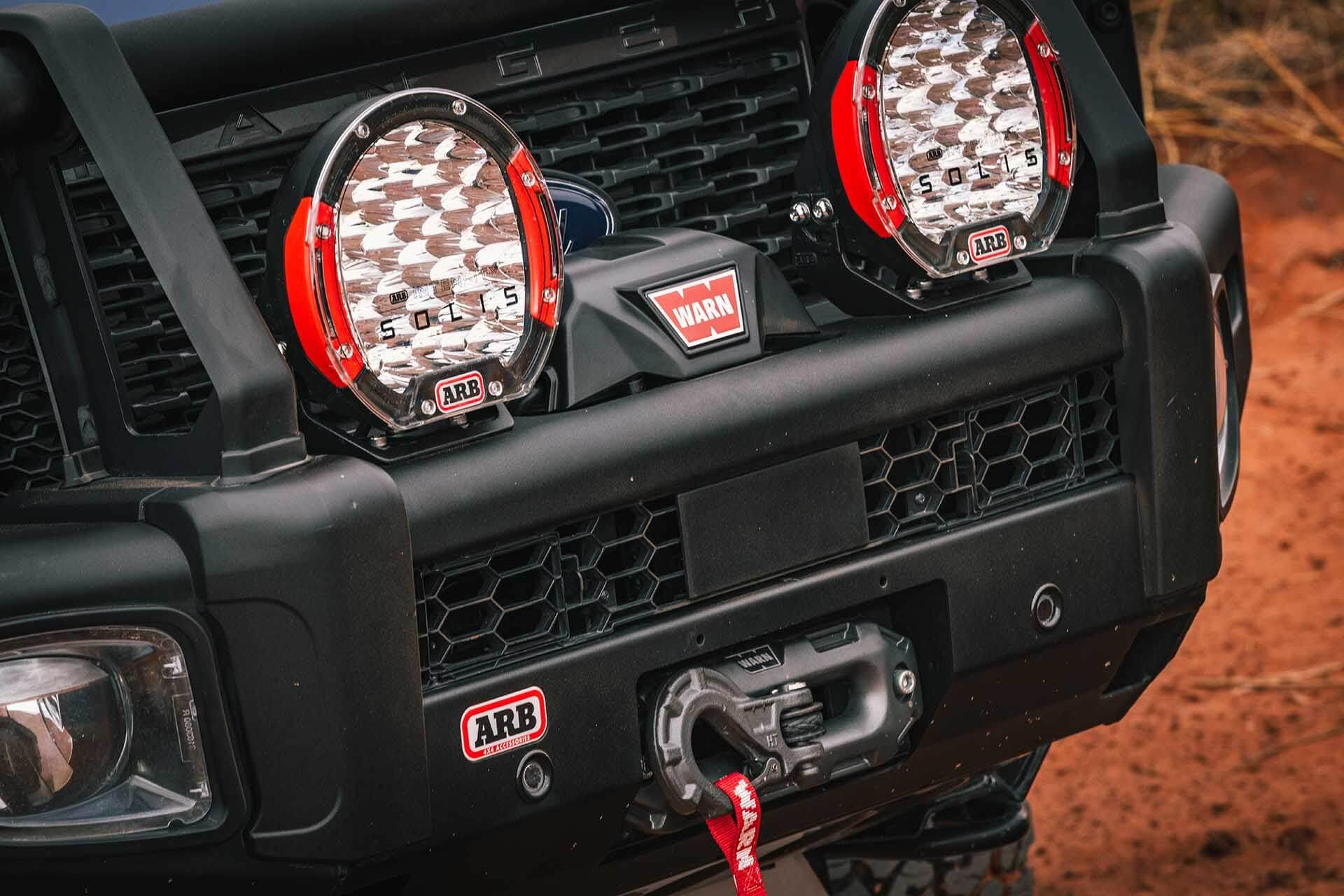 Ford Ranger Moab Lighting