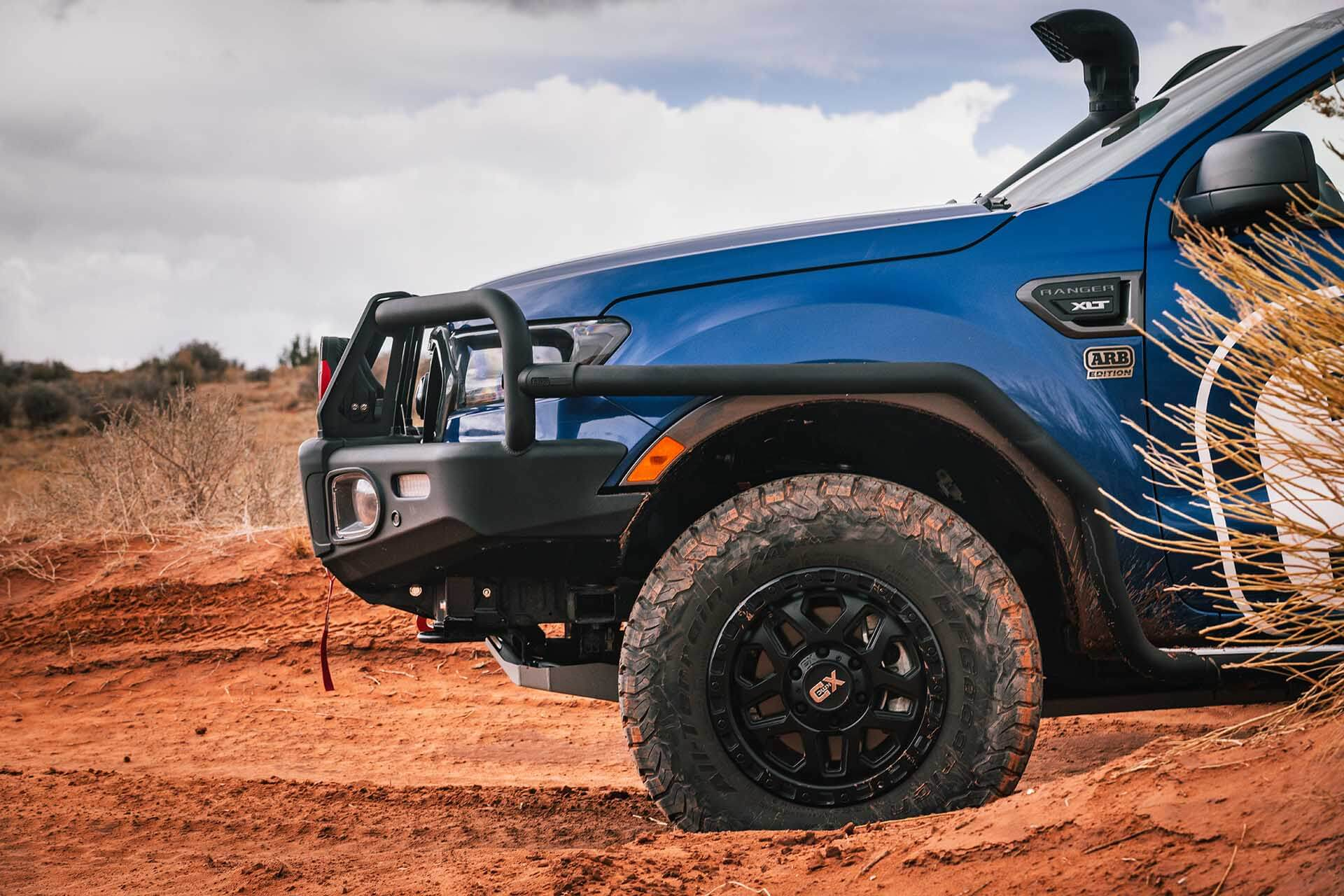 Frod Ranger Moab Front Panel