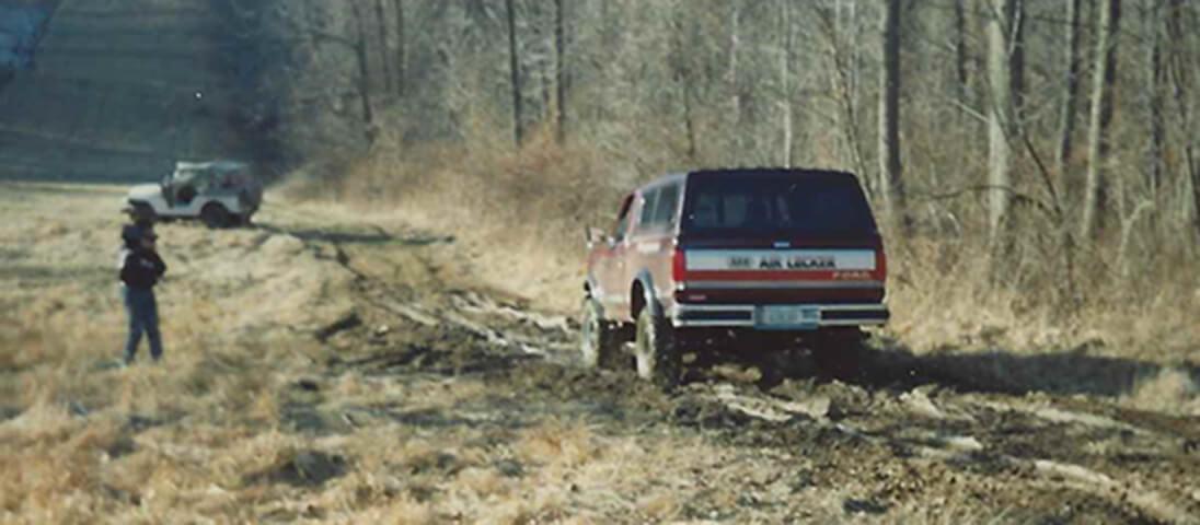 Ford F150 Air Locker -The test run